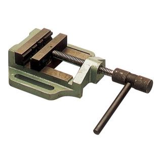 Maschinenschraubstock mit Knebel, B.100mm, Spann-W.80mm