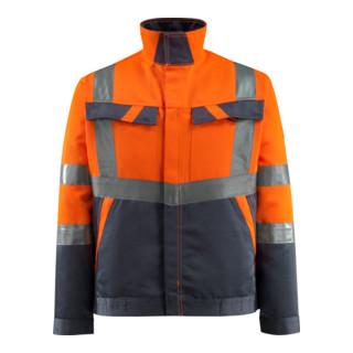 Mascot Arbeitsjacke Forster hi-vis orange/schwarzblau