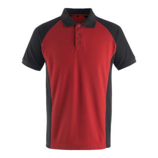 Mascot Polo-Shirt Bottrop Rot/Schwarz