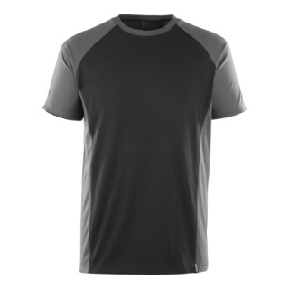 Mascot T-Shirt Potsdam Schwarz/Dunkelanthrazit