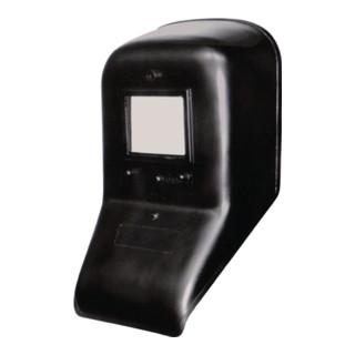 Masque de soudage avec verre DIN-9 et écran ext. 90 x 110 mm plastique