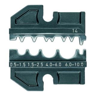 Matrices de sertissage, pour système de pinces de sertissage KNIPEX réf. : 97 43 XX Knipex