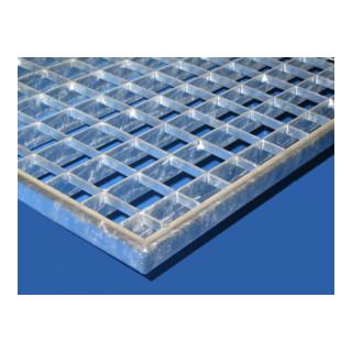 MEA Gitterrost LxB 1000 x 500 mm Maschenweite 30 x 30 mm