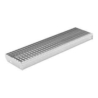 MEA Treppenstufenrost step XSL 30 x 30 mm + TS 20 mm 600 x 240 mm