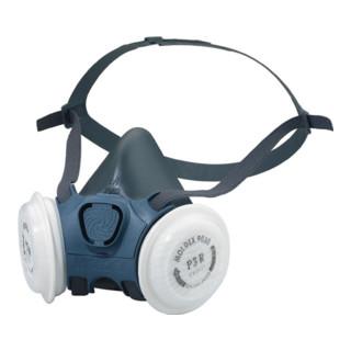Mehrweghalbmaske Serie 7000 Gr. M MOLDEX EN140:1998, Gasfilter 14387