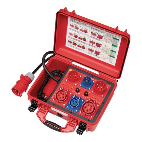 Messadapter aktive/passive Prüfung f. 1+3 phasige Geräte auch f. Schweißgeräte