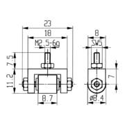Messeins.D.8,4mm