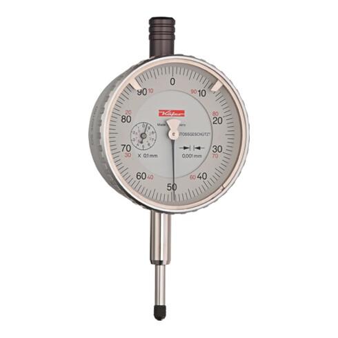 Messuhr FM1101 1mm Abl.0,001mm m.Stoßschutz KÄFER