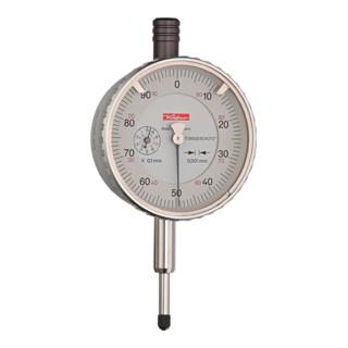 Messuhr FM1101 1mm Abl. 0,001mm m. Stoßschutz Käfer