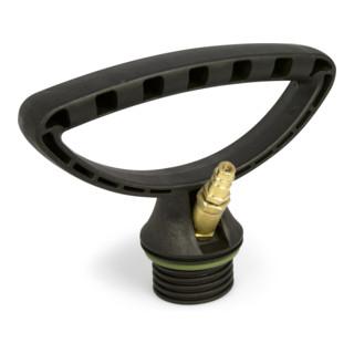 MESTO Druckluftfüllventil mit Steckkupplung NW 7,2, für FERROX/INOX Kunstoff