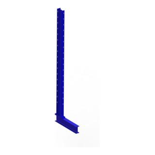 Meta Kragarmregal Ständer IPE 120 einseitig Enzianblau Multistrong L