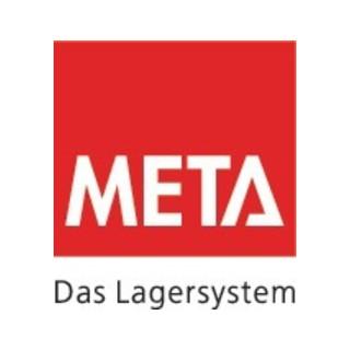 Meta Steckregal Anbau verz. H2000xB1000xT400mm 4 Böden Trgf.150kg/p.Boden Feldl.900kg