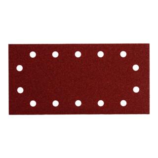 Metabo 10 Schleifblätter 115x280 mm Serie professional 14 Löcher