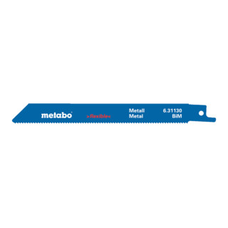 "METABO  2 Säbelsägeblätter, Metall, Serie ""classic"", 150x0,9"