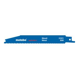 """METABO  5 Säbelsägeblätter, Metall, Serie """"pionier"""", 150x 0,9"""