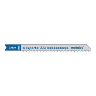 METABO  5 U-Stichsägeblätter, Aluminium+NE-Metalle, expert, 74