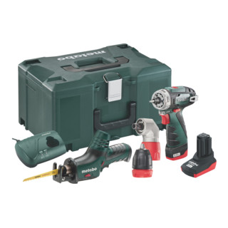 METABO 685054000 Combo Set 2.2 10.8V Quick Pro BS+ASE