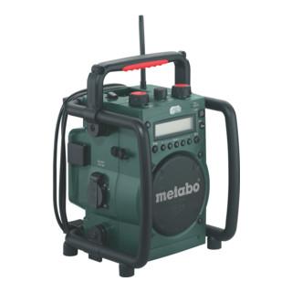 Metabo Akku-Baustellenradio RC 14.4-18