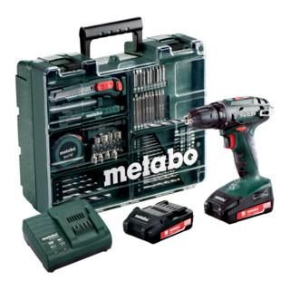 Metabo Akku-Bohrschrauber BS 18 Set