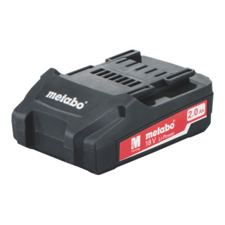 Metabo Akkupack 18 V, 2,0 Ah, Li-Power 625596000