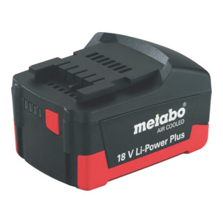 Metabo Akkupack 18 V 2,6 Ah Li-Power Plus AIR COOLED