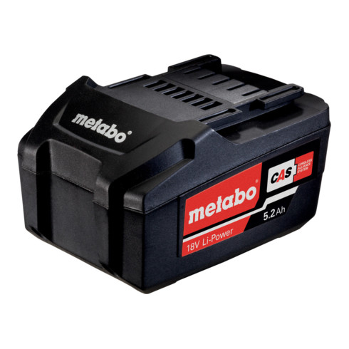 """Metabo Akkupack 18 V, 5,2 Ah, Li-Power, """"AIR COOLED"""""""