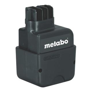 METABO  Akkupack 9,6 V, 1,4 Ah, NiCd