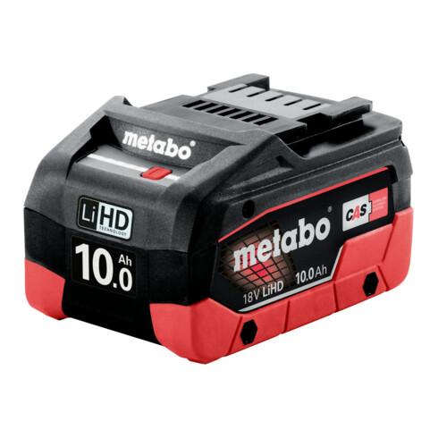Metabo Akkupack LiHD 18 V - 10,0 Ah