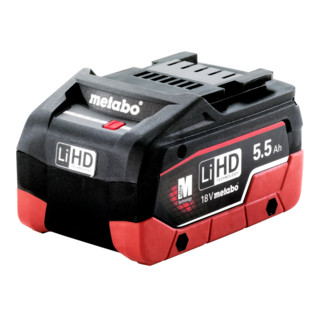 Metabo Akkupack LiHD 18 V - 5,5 Ah