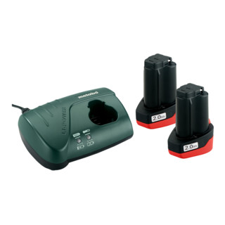 Metabo Basic-Set 10.8 V * 2 x 2.0 Ah