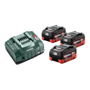 Metabo Basis-Set 3 x LiHD 5.5 Ah