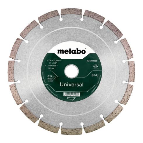 Metabo Diamanttrennscheibe Promotion Universal segmentiert
