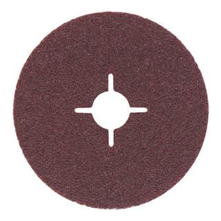 Metabo Fiberscheibe 125 mm P 120, Normalkor+, Stahl, NE-Metalle