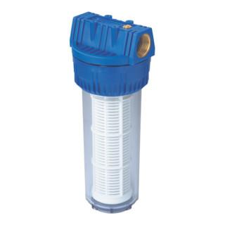 """Metabo Filter für Hauswasserwerke 1 1/4"""" lang, mit waschbarem Filtereinsatz"""