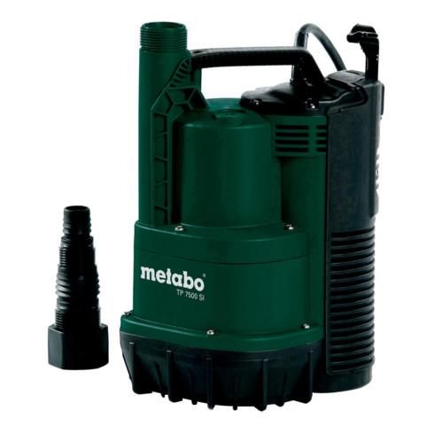 Metabo Flachsaugende Klarwasser-Tauchpumpe TP 7500 SI; Karton