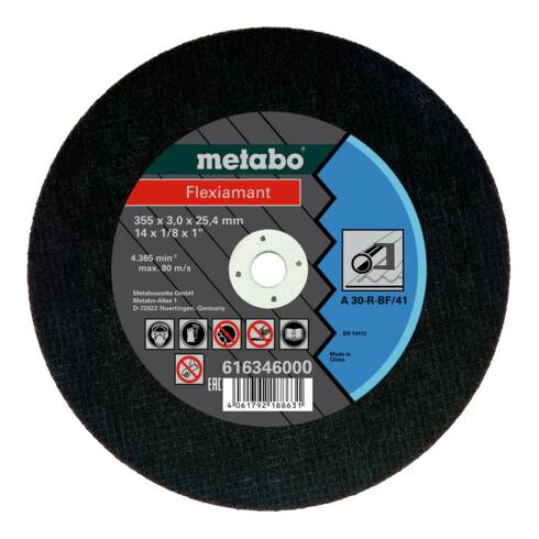 Metabo Flexiamant 355x3,0x25,4 Stahl, Trennscheibe, Form 41