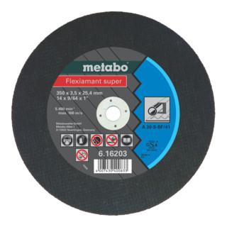 Metabo Flexiamant super Trennscheibe, gerade Ausführung