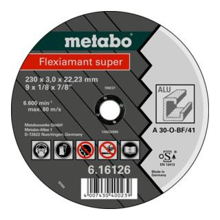 Metabo Flexiamant super Schruppscheibe, gerade Ausführung