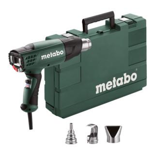 Metabo Heißluftgebläse HE 23-650 Control Kunststoffkoffer