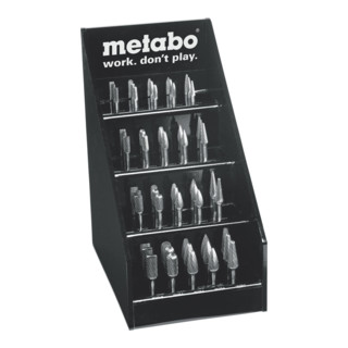 Metabo HM-Fräser-Set, 40-tlg. im Display 628405000