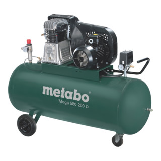 Metabo Kompressor Mega 580-200 D (601588000) im Karton