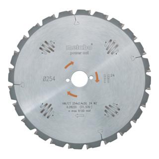 Metabo Kreissägeblatt Power Cut HW/CT Wechselzahn
