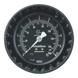METABO  Manometer Ø 80 mm mit Schutzkappe (1-10 bar) für RF 48