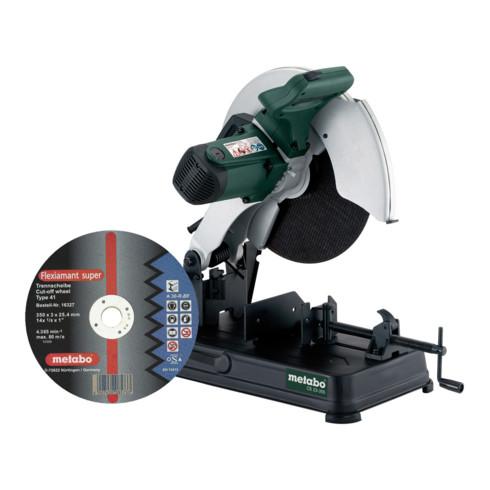 Metabo Metalltrennschleifer CS 23-355 Set mit Trennscheibe Flexiamant Super; Karton