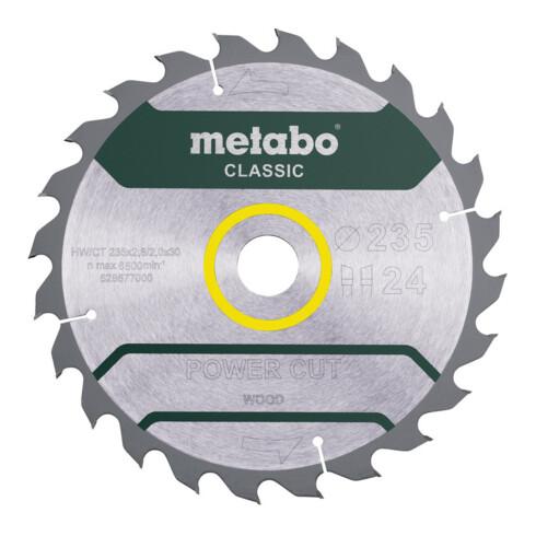 "Metabo Sägeblatt ""power cut wood - classic"" Karton"