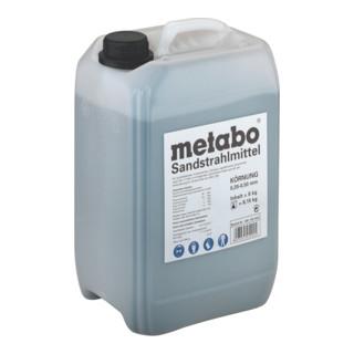 METABO  Sandstrahlmittel, Körnung 0,2 - 0,5 mm, Kanister 8 kg
