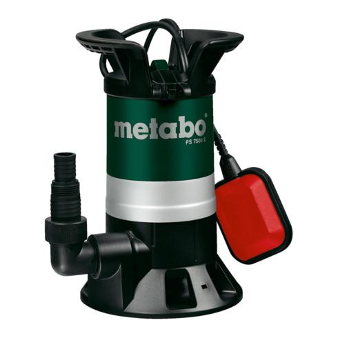 Metabo Schmutzwasser-Tauchpumpe PS 7500 S; Karton