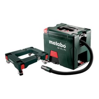 Metabo Set Akku-Sauger AS 18 L PC mit Rollbrett; Karton