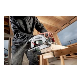Metabo Set Handkreissäge KS 66 FS mit Führungsschiene FS 160; Karton