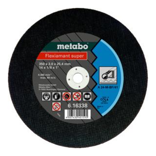 "Metabo Trennscheibe A 24-M ""Flexiamant Super"" Stahl"